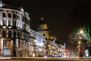 Saint Isaacs Cathedral in Petersburg Wallpaper for Android, iPhone and iPad