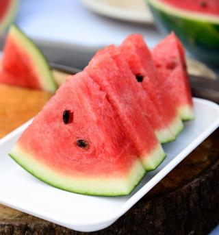 Juicy Watermelon - Obrázkek zdarma pro iPad