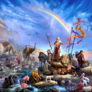 Tom duBois - Noahs Ark - Obrázkek zdarma pro iPad