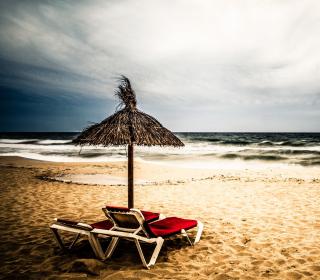 Tropical Beach - Obrázkek zdarma pro iPad