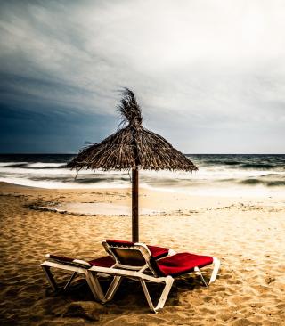 Tropical Beach - Obrázkek zdarma pro Nokia C3-01 Gold Edition