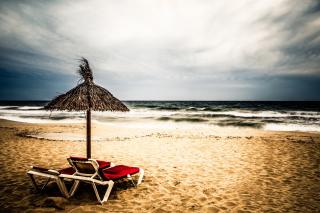 Tropical Beach - Obrázkek zdarma pro Nokia XL