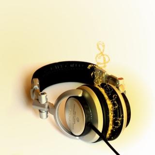 Headphones - Obrázkek zdarma pro 1024x1024
