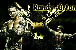 Randy Orton Wrestler - Obrázkek zdarma pro Samsung Galaxy Tab 7.7 LTE