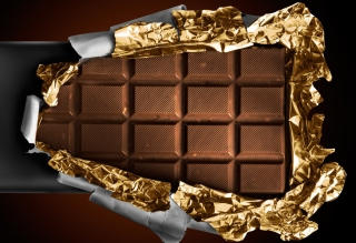 Free Milk Chocolate Picture for Android, iPhone and iPad