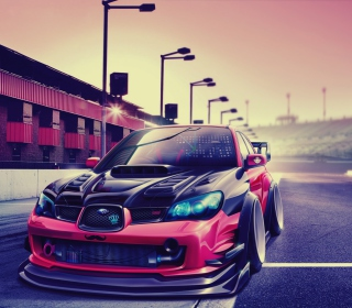 Subaru Impreza Super Tuning - Obrázkek zdarma pro 1024x1024