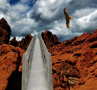 Desert Eagle - Obrázkek zdarma pro iPad mini