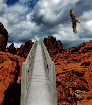 Desert Eagle - Obrázkek zdarma pro 240x320