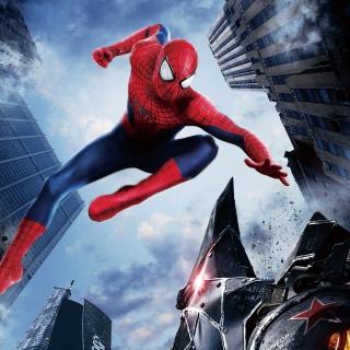 The Amazing Spider Man 2014 Movie - Obrázkek zdarma pro iPad