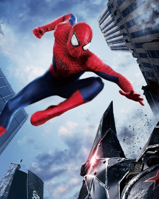 The Amazing Spider Man 2014 Movie - Obrázkek zdarma pro iPhone 4S