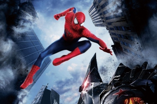 The Amazing Spider Man 2014 Movie - Obrázkek zdarma pro Desktop Netbook 1024x600