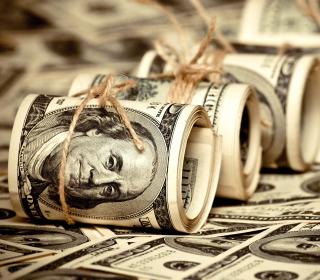 Dollars - Obrázkek zdarma pro iPad 2