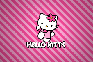 Hello Kitty - Obrázkek zdarma pro 480x320