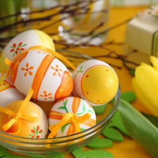 Happy Easter Card - Obrázkek zdarma pro 2048x2048