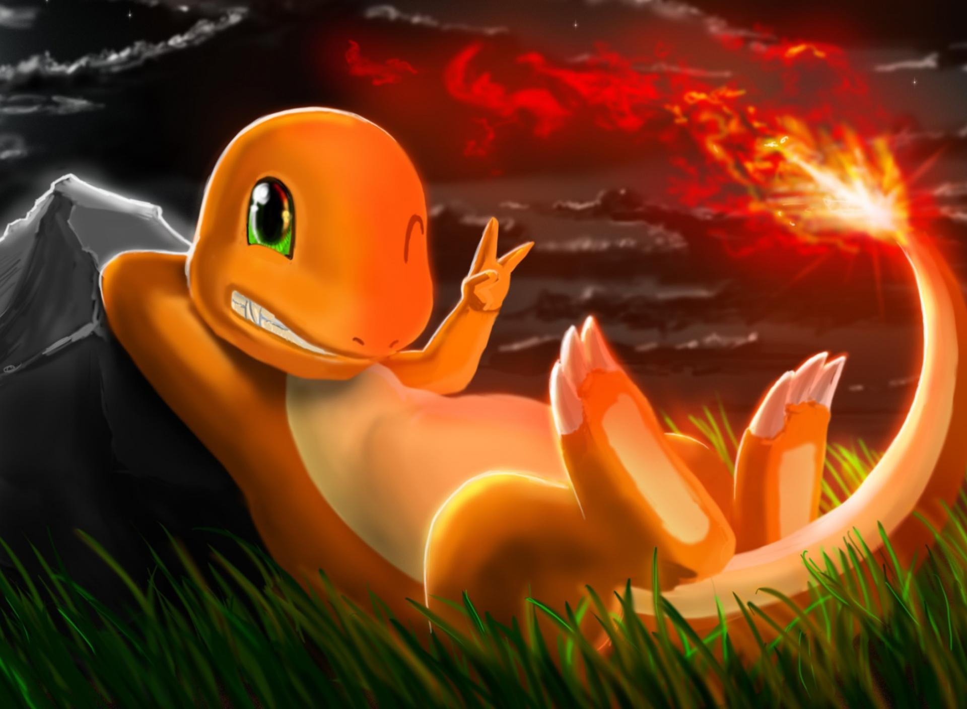 Charmander pokemon fondos de pantalla gratis para sony for Fondos para tablet