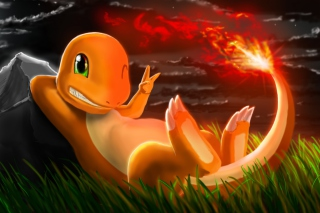 Charmander Pokemon Background for Android, iPhone and iPad