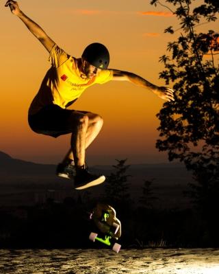 Skater Boy - Obrázkek zdarma pro 480x800