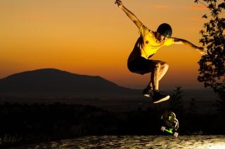 Skater Boy - Obrázkek zdarma pro Android 600x1024