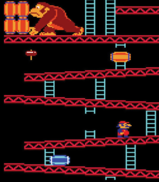 Donkey Kong - Obrázkek zdarma pro 132x176