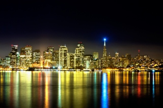 Free San Francisco Skyline Picture for Android, iPhone and iPad