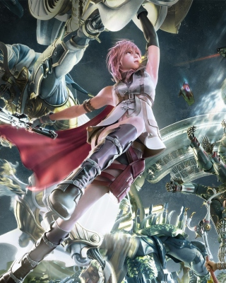 Final Fantasy VIII - Obrázkek zdarma pro iPhone 5C