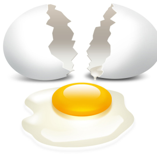 Egg - Obrázkek zdarma pro iPad Air
