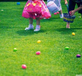 Easter Egg Hunt - Obrázkek zdarma pro iPad Air