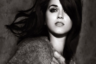 Katy Perry Black And White Wallpaper for Android, iPhone and iPad
