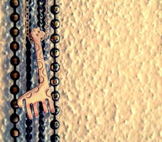 Lovely Giraffe Pendant - Obrázkek zdarma pro iPad mini