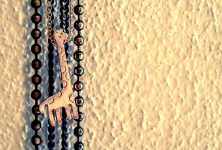 Lovely Giraffe Pendant - Obrázkek zdarma pro 2560x1600