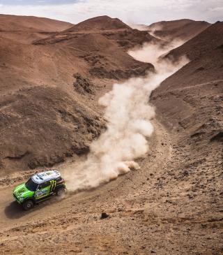 Mini Cooper Rally - Obrázkek zdarma pro 480x800