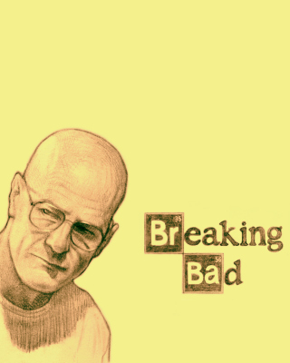 Walter White and Jesse Pinkman in Breaking Bad - Obrázkek zdarma pro iPhone 6