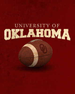 Oklahoma Sooners University Team - Obrázkek zdarma pro 640x960