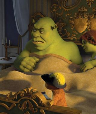 Cartoons Shrek 3 - Obrázkek zdarma pro 640x1136