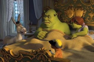 Cartoons Shrek 3 - Obrázkek zdarma pro 1366x768