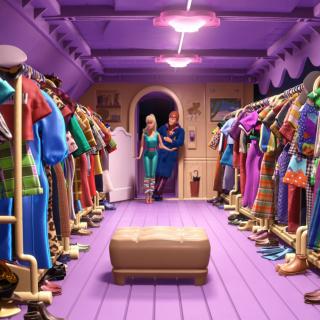 Toy Story 3 Barbie And Ken Scene - Obrázkek zdarma pro 320x320