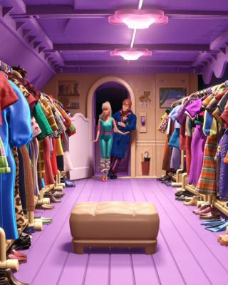 Toy Story 3 Barbie And Ken Scene - Obrázkek zdarma pro 360x640