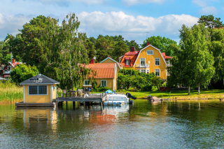 Vaxholm, Sweden Wallpaper for Android, iPhone and iPad