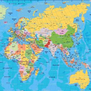 World Map - Obrázkek zdarma pro 320x320