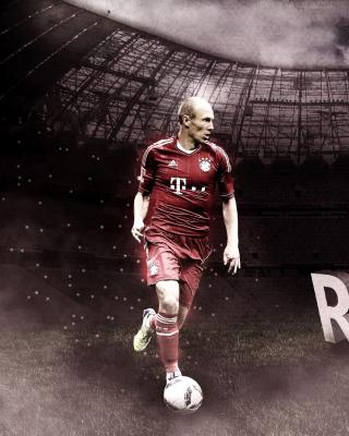 Arjen Robben - Obrázkek zdarma pro iPhone 6 Plus
