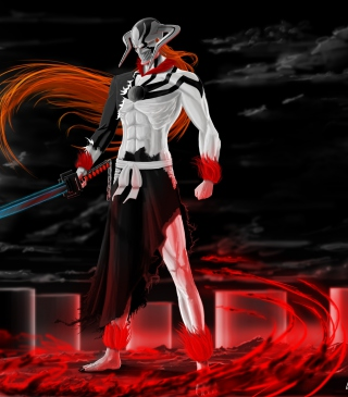 Ichigo Vasto Lorde Bleach - Obrázkek zdarma pro 320x480