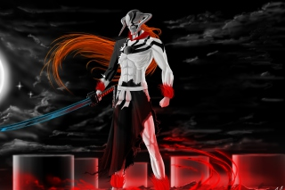 Ichigo Vasto Lorde Bleach - Obrázkek zdarma pro HTC Desire HD