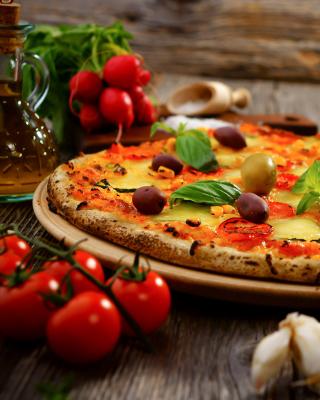 Homemade Pizza - Obrázkek zdarma pro Nokia Asha 300