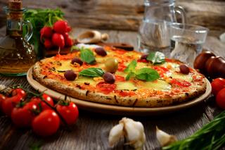 Homemade Pizza - Obrázkek zdarma pro 1280x800