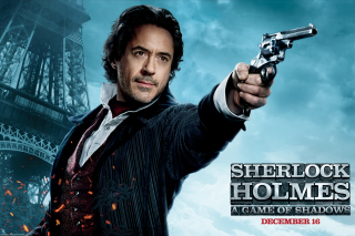 Robert Downey Jr In Sherlock Holmes 2 - Obrázkek zdarma pro Samsung Galaxy Tab S 8.4