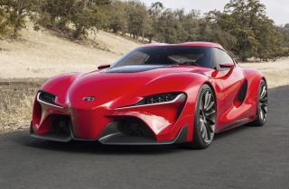 Toyota FT-1 Concept - Obrázkek zdarma pro HTC Wildfire