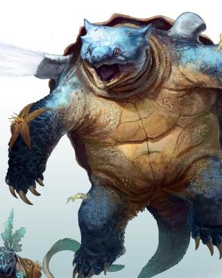 Monster Turtle - Obrázkek zdarma pro 360x400