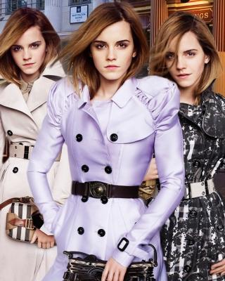 Emma Watson In Burberry - Obrázkek zdarma pro 352x416