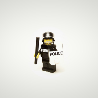 Police Lego - Obrázkek zdarma pro 1024x1024