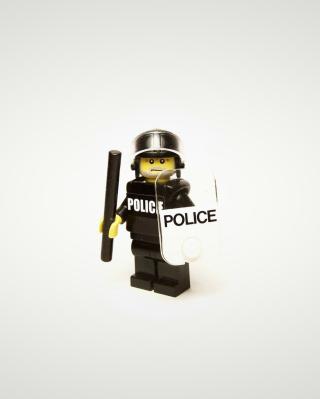 Police Lego - Obrázkek zdarma pro Nokia C5-05